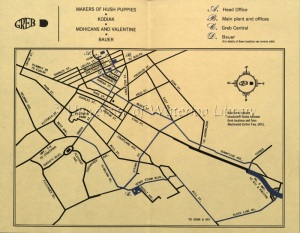 Greb Locations in Kitchener, ca. 1967
