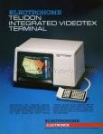 Advertisement, Telidon, 1981